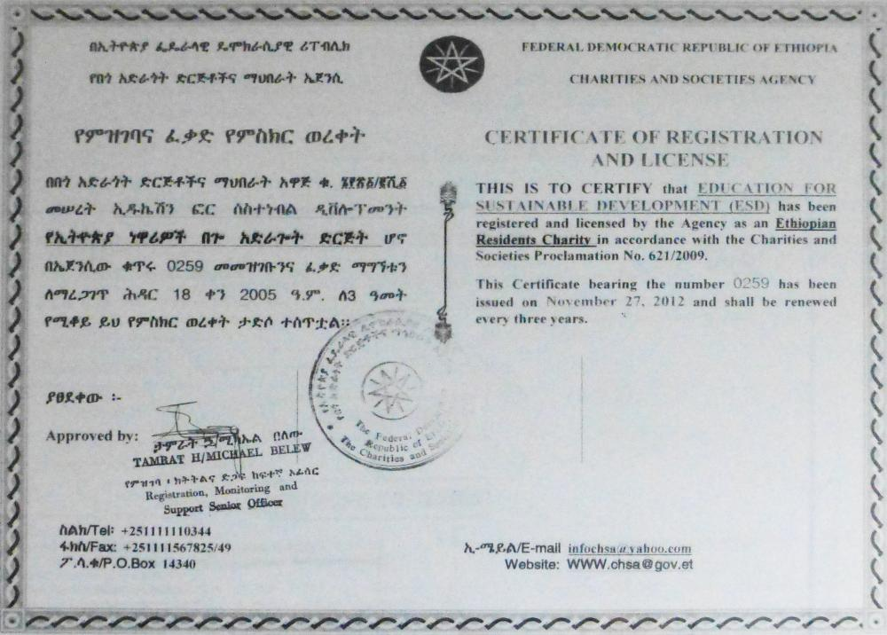Zertifizierung Staatliche Zertifizierung von ESD . . . ⚫ ESD ...